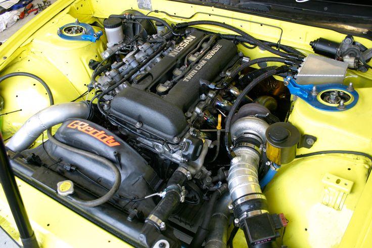 C's Garage TD06 SR20DET setup