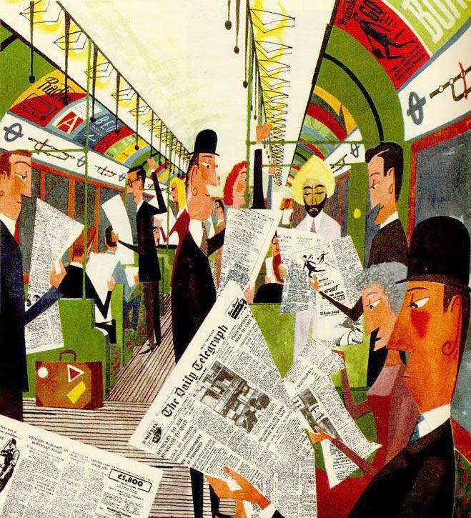 Miroslav Sasek Illustration