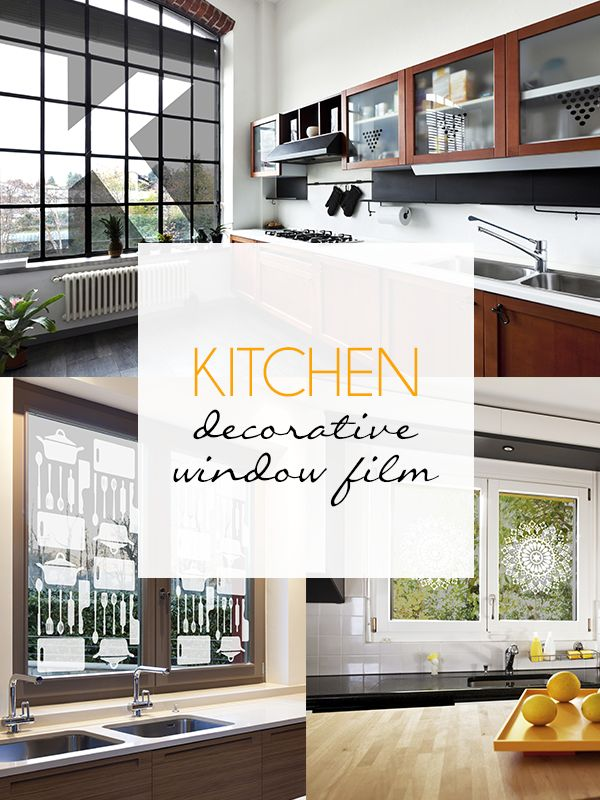 7 best Kitchen Decorative Window Film images on Pinterest ...