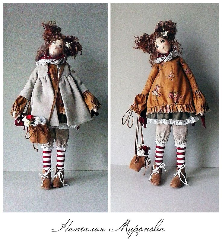 Куклы в стиле бохо от Натальи Мироновой.... Обсуждение на LiveInternet - Российский Сервис Онлайн-Дневников