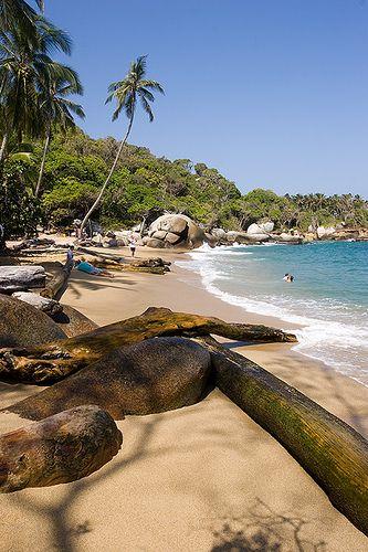 Parque Nacional Tayrona,  Mar Caribe COLOMBIA