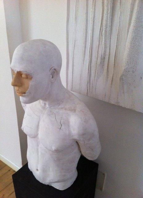 LEO  terracotta h. cm 70