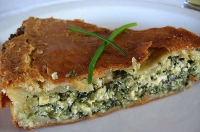 Пирог со шпинатом (спанакопита)