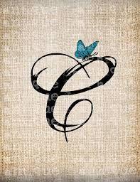 Resultado de imagen de letter c with heart tattoo