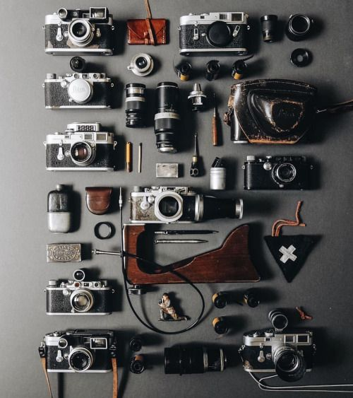 leicacraft: A Leica Analog Orgy from @1924us #leicacraft...