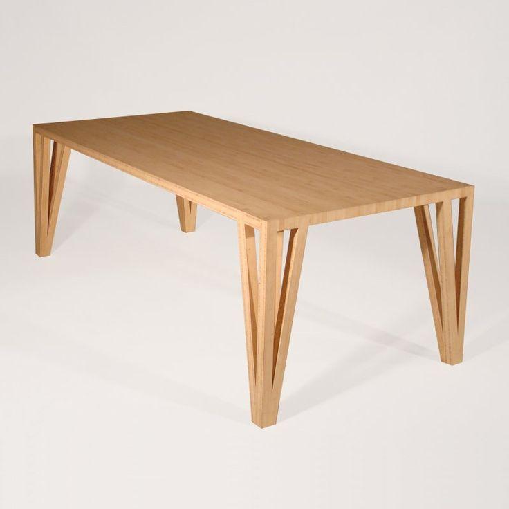 Bamboe tafel via Goeters