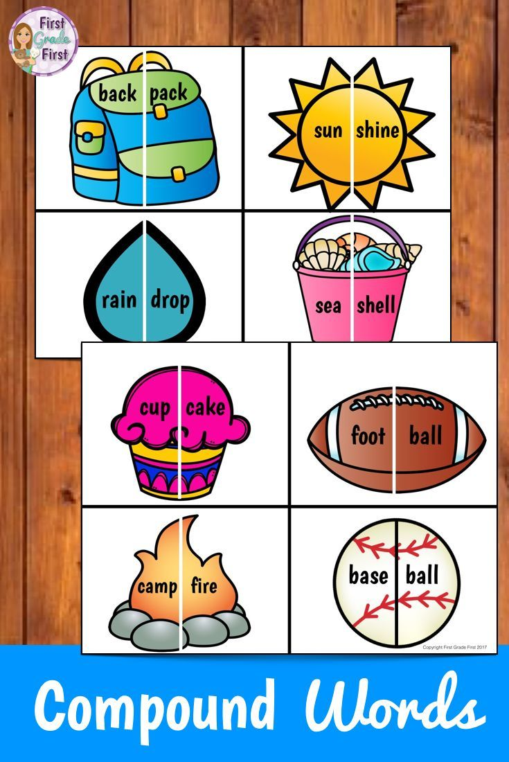 Compound Words Activities Compound Words Compound Words Activities Word Activities [ 1100 x 735 Pixel ]