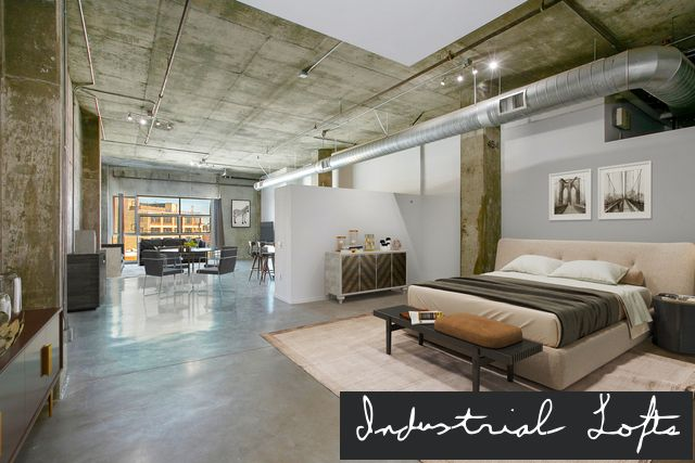 Industrial Warehouse Lofts For Sale In Los Angeles Lofts For Rent Warehouse Loft Penthouse Living