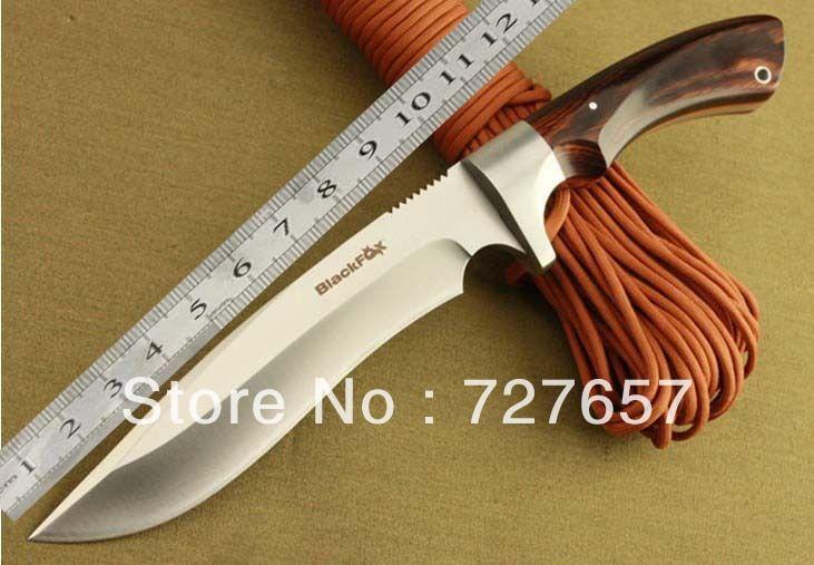 Охота на лис кемпинг ножи выдающийся человек черный X 7Cr17 57-58HRC фикчированный прямо тактический ножи выживания