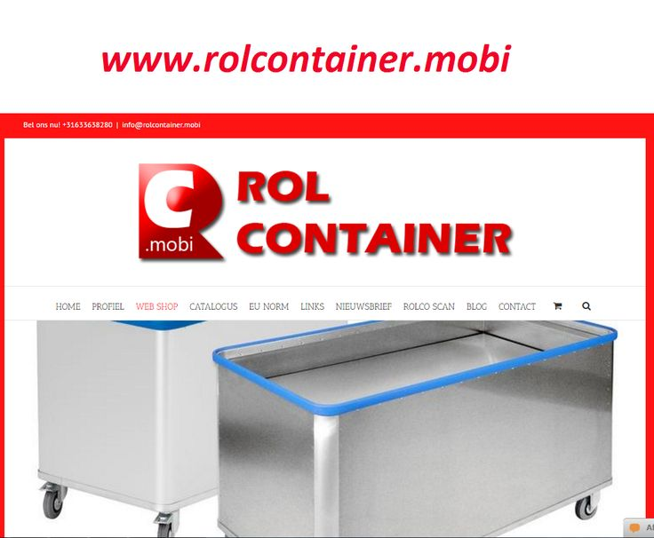 Buy best quality rolcontainers from rolcontainer.mobi. We provide the rolcontainers manufactured by high quality materials. We offer a reliable solution for every business needs. Super quality products at competitive prices.