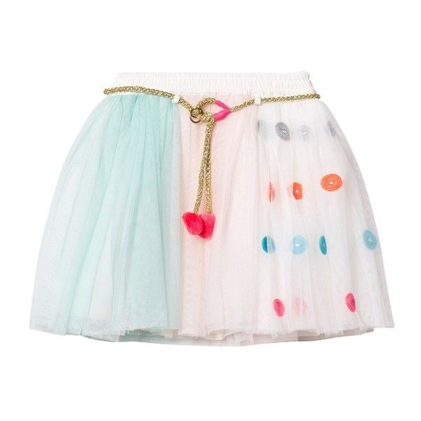 Pink, Blue and White Tutu Skirt with Set of 3 Masks ($61) ❤ liked on Polyvore featuring skirts, pink tutu skirt, blue and white tutu, pink tutu, blue white skirt and pink skirt