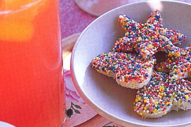No party is complete without fairy bread and these pretty shapes will capture the kids' imaginations.