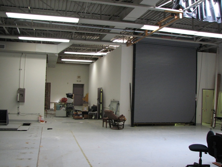 A before shot of part of our NEW space at Madison.