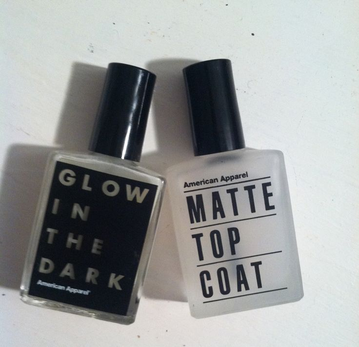 glow in the dark - matte top coat