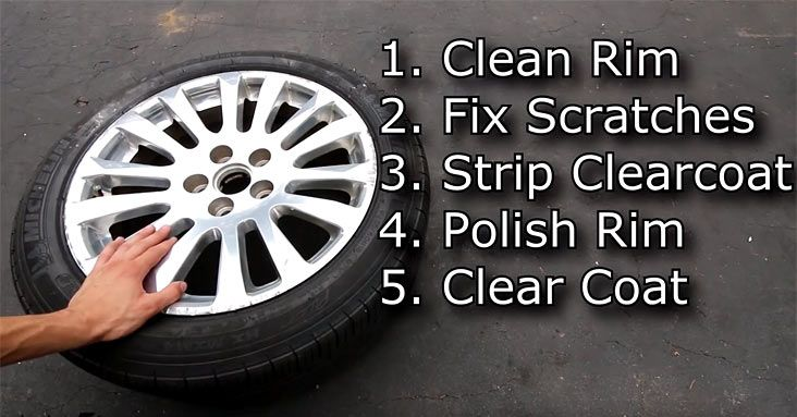 How to Repair Wheel Rims with Curb Rash or Scratches Click to Find out more - http://fastmusclecar.com/video/how-to-repair-wheel-rims-with-curb-rash-or-scratches/ COMMENT.