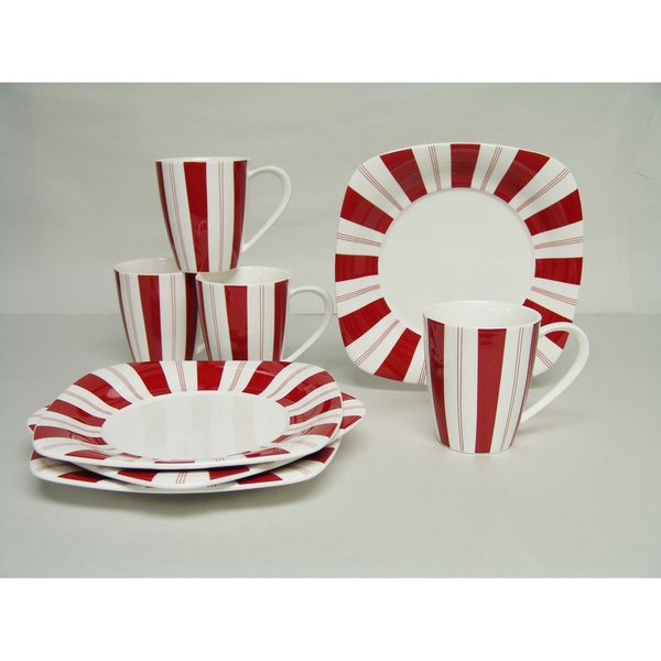 Red Vanilla Tuxedo Rouge 8-piece Dessert Set - Overstock™ Shopping - Top Rated Red Vanilla Specialty Sets