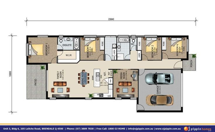 Lockyer 215 Floor Plan
