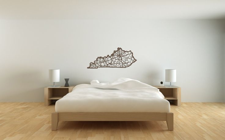 Wooden Kentucky State Map by CutMaps on Etsy https://www.etsy.com/listing/183795442/wooden-kentucky-state-map