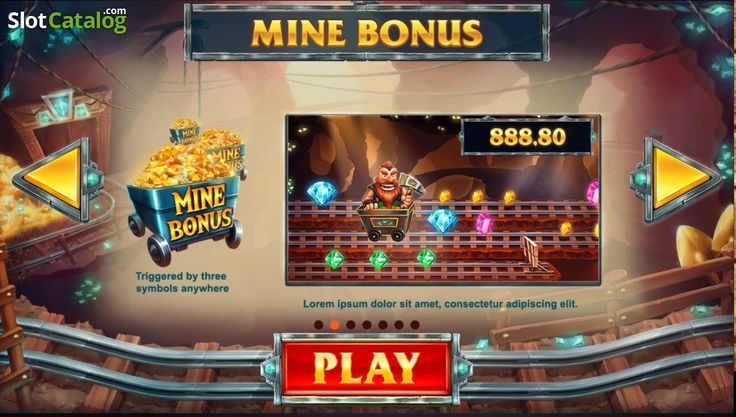 Screen2. Treasure Mine (Video Slot from Red Tiger)