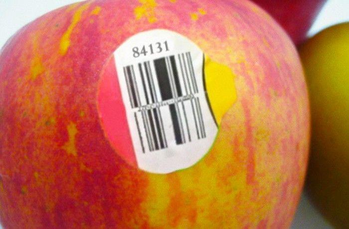 Берегитесь фруктов, пятизначный код которых начинается на «8»!