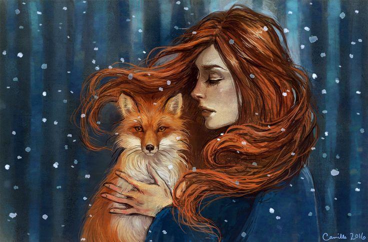 fox by Camille-Marie on DeviantArt