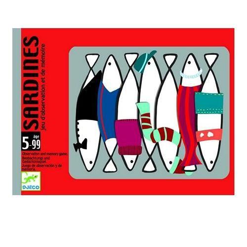 Djeco Επιτραπέζιο με κάρτες 'Ψαράκια'   TOYS.GR