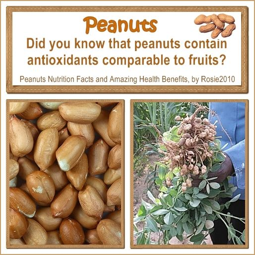 Peanuts Nutrition Facts and Amazing Health Benefits