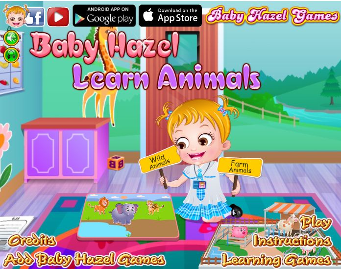 Join Baby Hazel and friends to learn about animals and birds by completing various fun-filled activities and assignments. http://www.babyhazelgames.com/games/baby-hazel-learn-animals.html