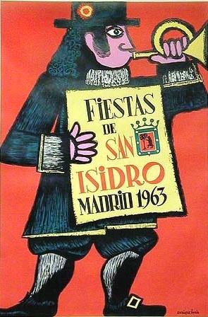 1963, Fiestas de San Isidro Madrid.
