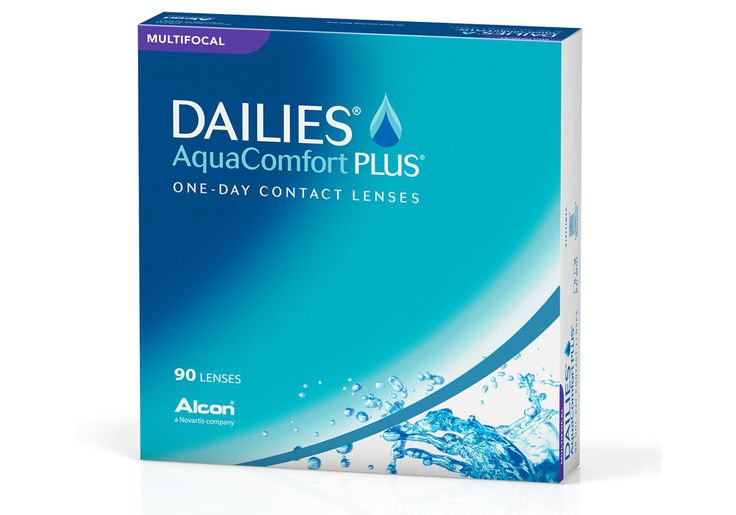 Buy Dailies AquaComfort Plus Multifocal 90 Pack contact lenses online. 50-70% off retail contact lenses in Canada. Get free shipping to Canada or US. No minimum order needed! No taxes!