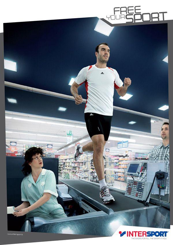 Very creative running ad.
