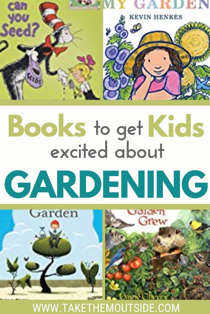 Nature Reading Kids Books About Spring And Gardening With Images