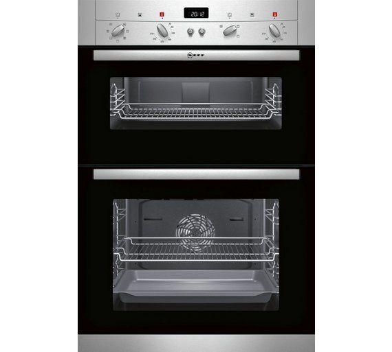 Buy Neff U12S52N3GB Electric Oven - Stainless Steel at Argos.co.uk, visit Argos.co.uk to shop online for Built-in ovens, Cooking, Large kitchen appliances, Home and garden