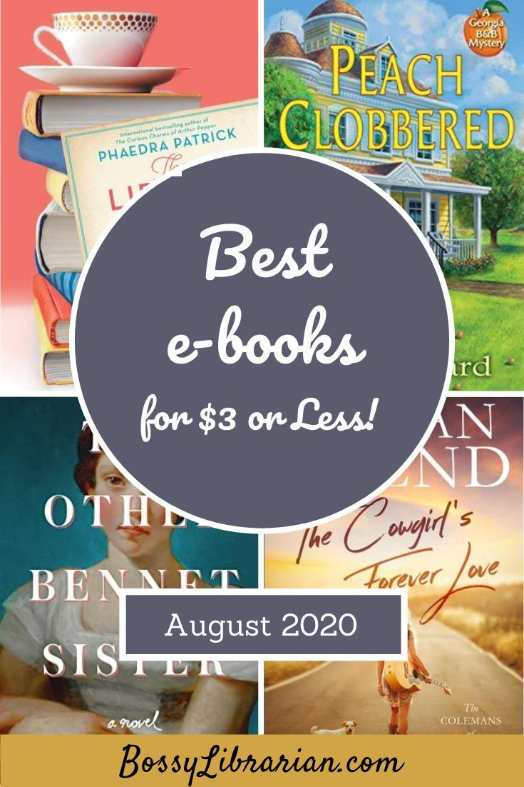 August 2020 Best E Books For 3 Or Less Books Book Blogger Best Books To Read