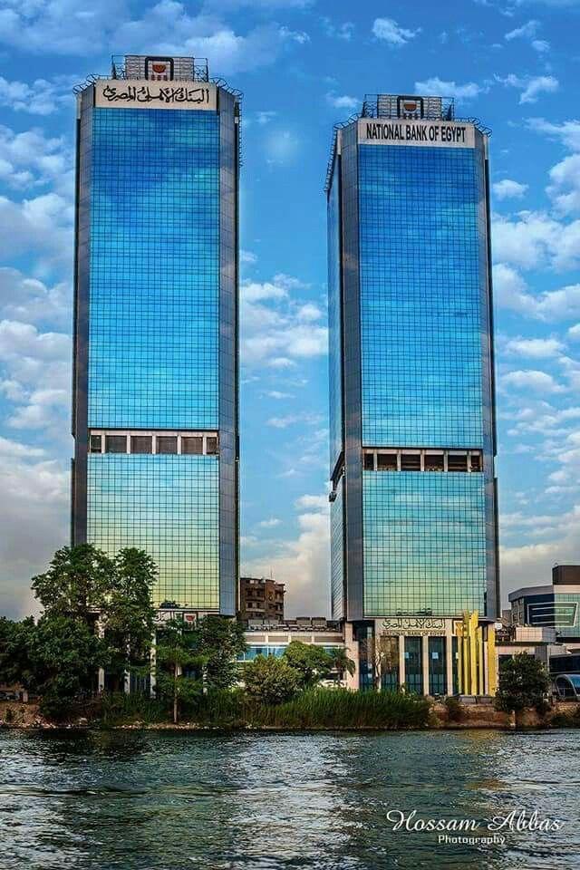 Towers Of National Bank Of Egypt Cairo ابراج بنك مصر الوطني القاهرة Skyscraper Egypt Islamic Countries