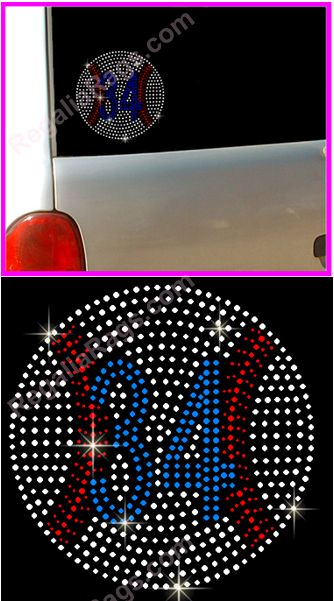 Decorative Rhinestone Stickers : Custom rhinestone t shirts transfers