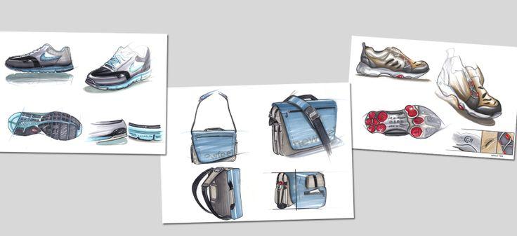 sketch Newfeel bags shoes