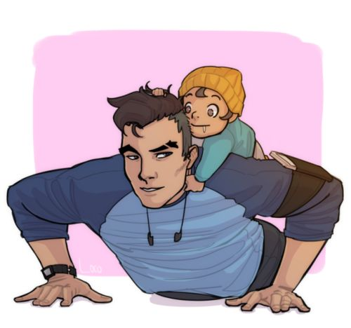 Dream Daddy: A Dad Hookup Simulator Characters