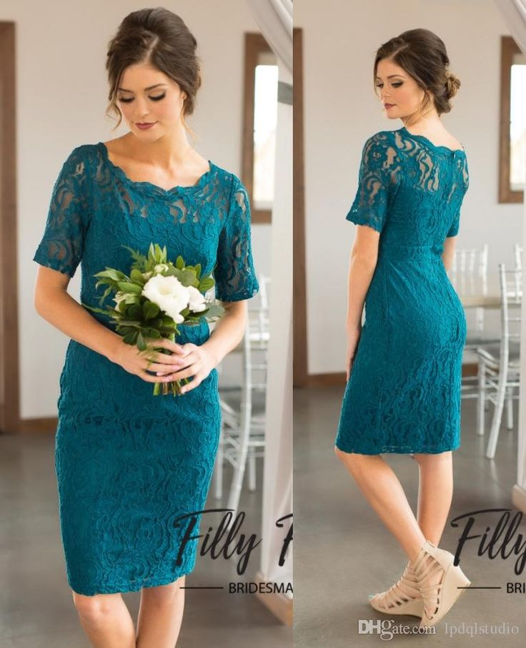 Country Bridesmaid Dresses Hunter Lace Wedding Party Dresses Scoop Short Sleeves Zipper Back Bridesmaid Gowns Cheap Bridesmaid Dresses Country Bridesmaid Dress Cheap Bridesmaid Dress Online with $89.0/Piece on Lpdqlstudio's Store | DHgate.com