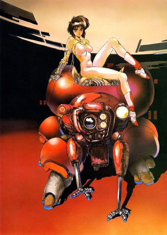Masamune Shirow - Ghost in the Shell