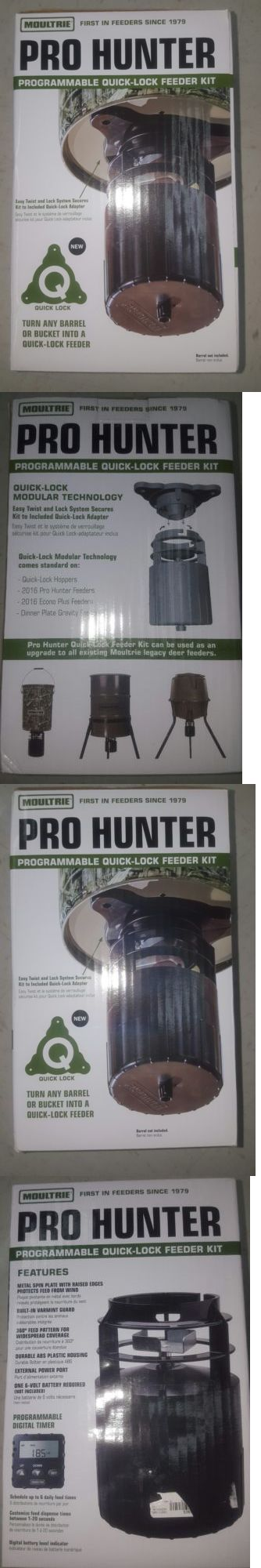 Game Feeders and Feed 52504: Moultrie Programmable Pro Hunter Quick-Lock Tripod Deer Feeder Kit Mfg-13053 -> BUY IT NOW ONLY: $31.99 on eBay!