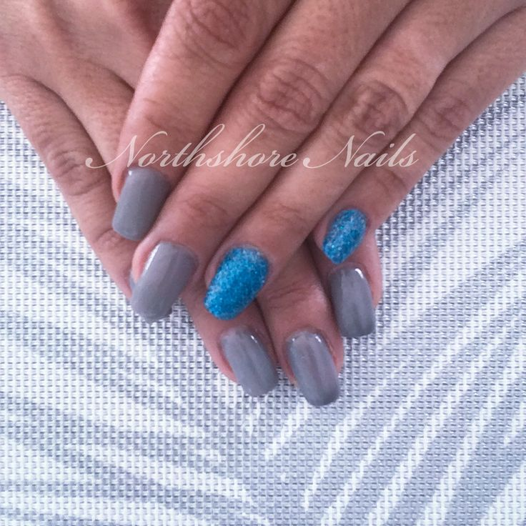 Your mermaid is showing! Deep blue sea scales with chameleon grey!