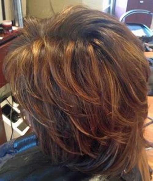 Short Layered Hair Cut