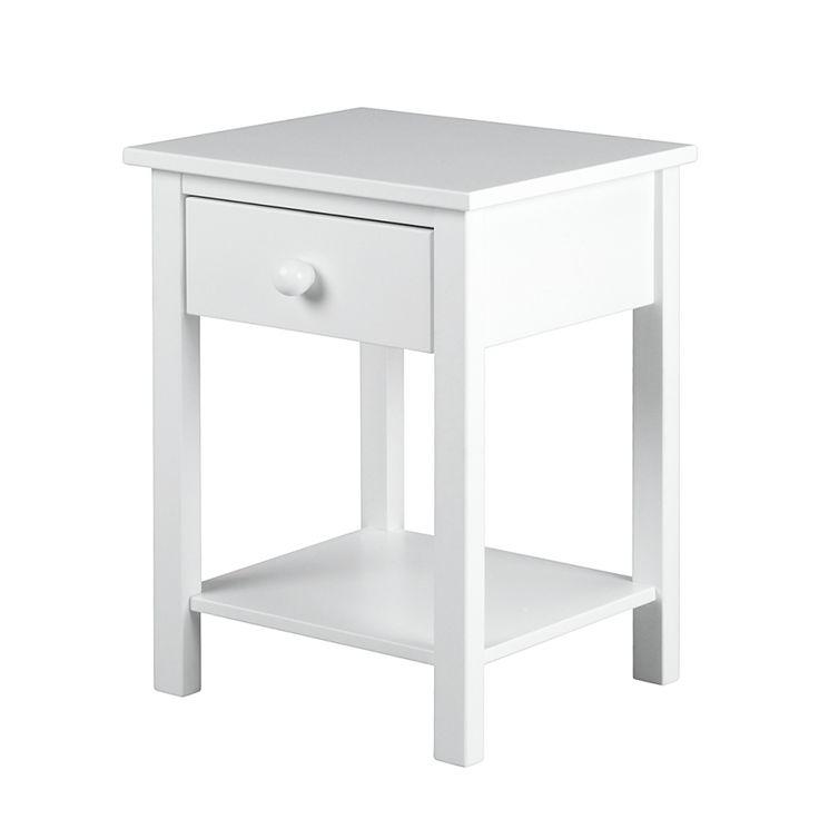 Nachttisch Annabelle - Weiß | Home24