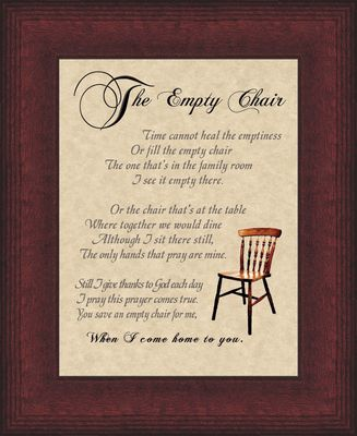 The+Empty+Chair+Prayer   The Empty Chair-Poem-Framed