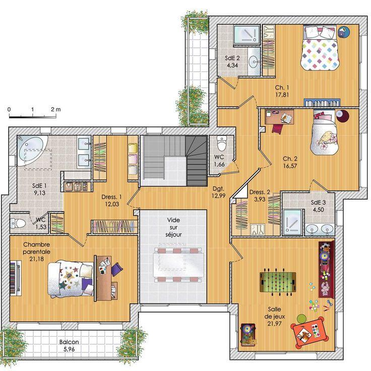 Une maison zen et sculpturale en 2020 | Plan maison, Maison zen et Maison