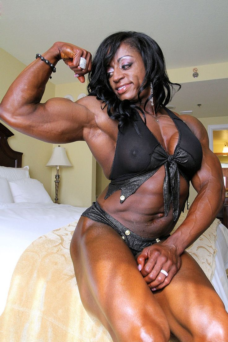 Black muscle girls porn