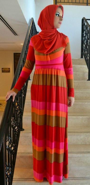 Fusing Fashion and Faith: Veiled en Vogue : Aquila Style : Afia R Fitriati