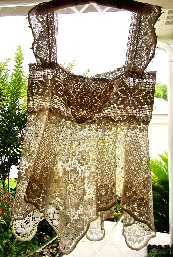 17 best images about lovely lace on pinterest vintage for Linge shabby chic
