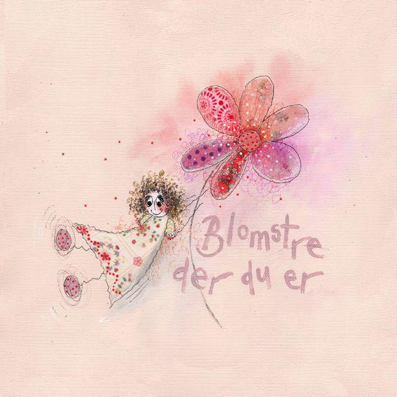 Blomstre der du er... www.kjerstimunkejordlamb.no